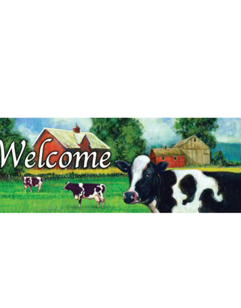 Cow Field Signature Sign
