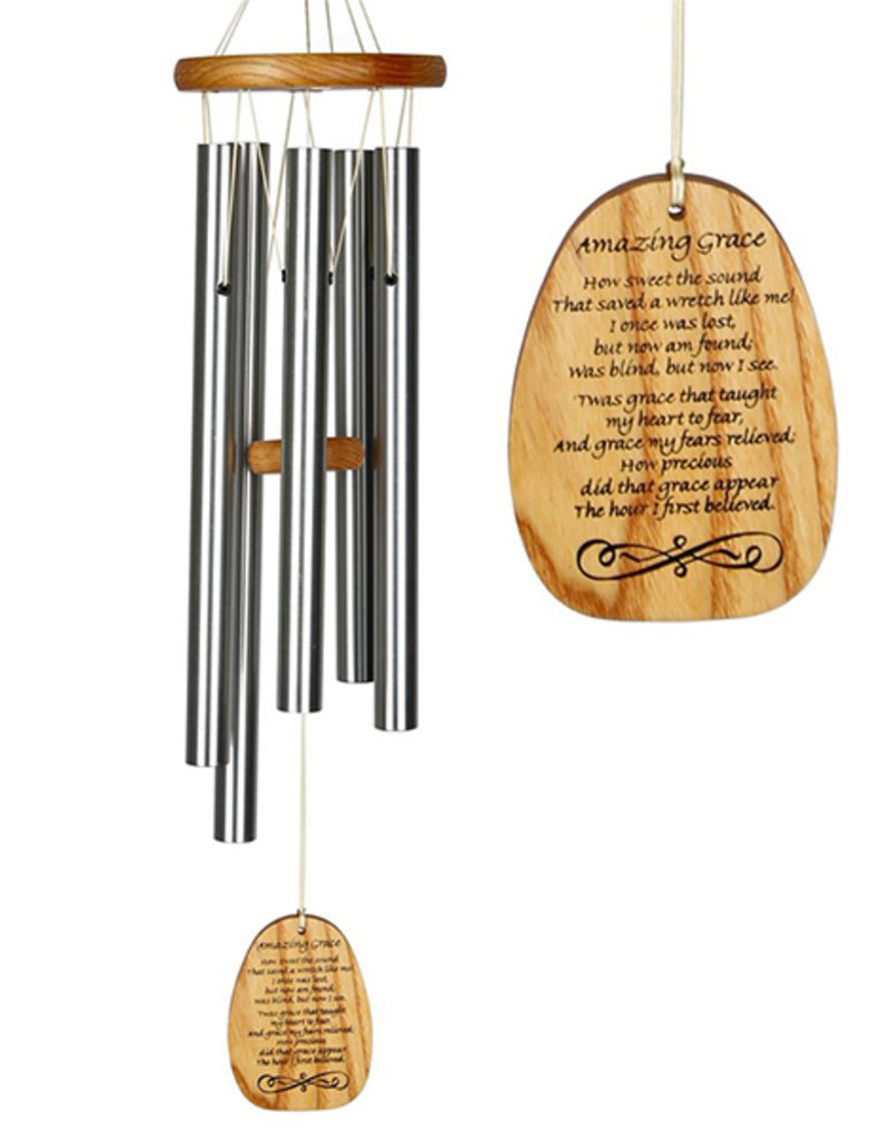 Woodstock Woodstock Reflections Amazing Grace Wind Chime
