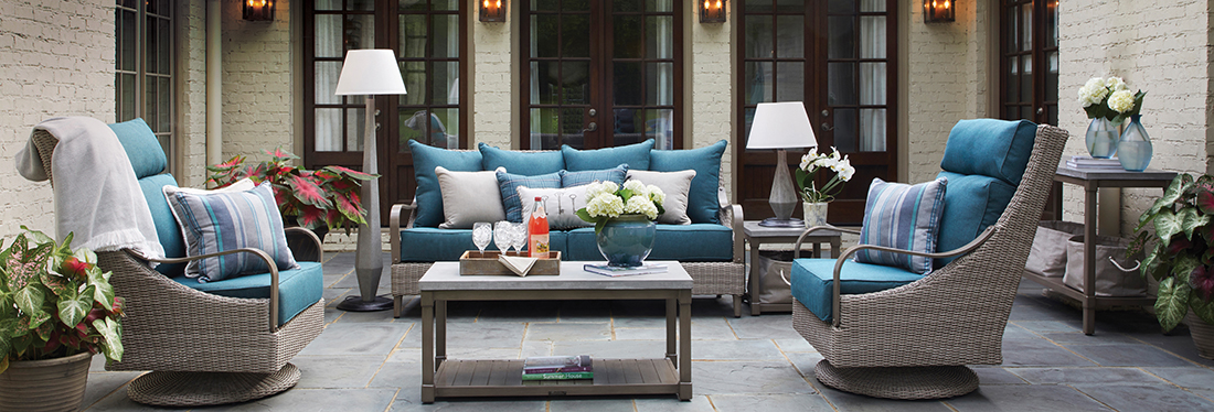 Inspired Visions by Peak Season Maddox Outdoor Furniture Collection