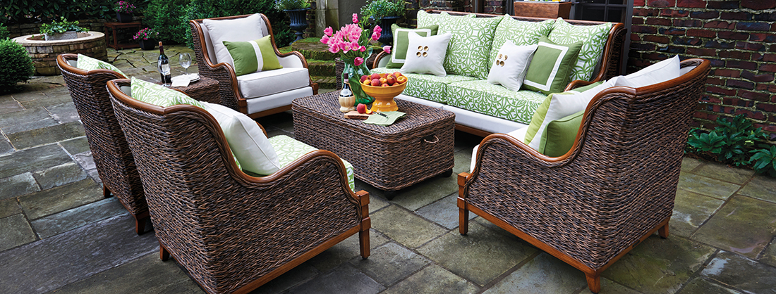 Inspired Visions by Peak Season Newport Upholstered Outdoor Furniture