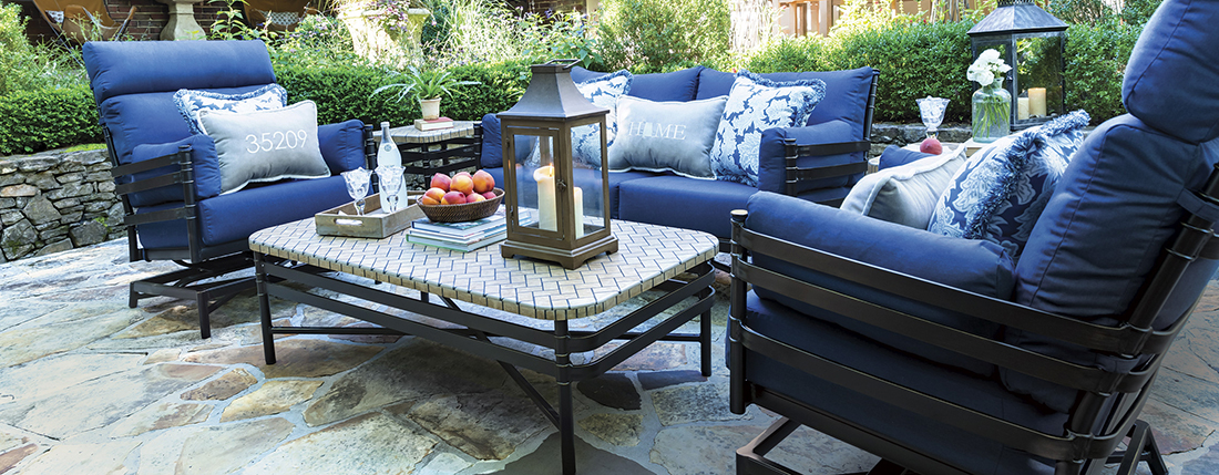 Inspired Visions by Peak Season Lancaster Outdoor Patio Seating Collection