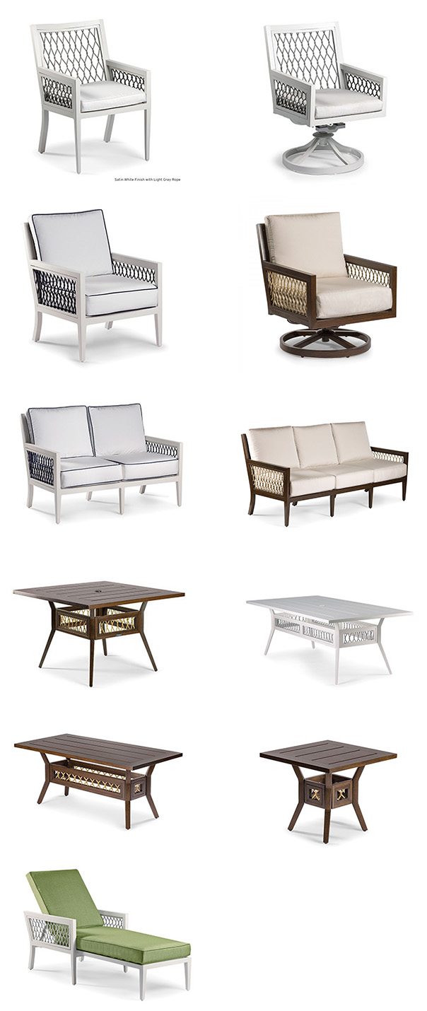 Eddie Bauer Outdoor Echo Bay Patio Furniture Collection