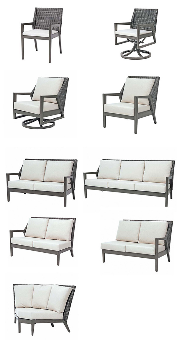 Ratana Cape Town Outdoor Dining Seating and Sectional Seating Collection