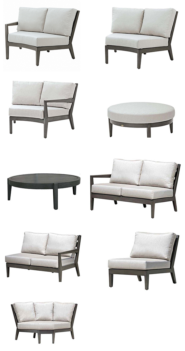 Ratana Lucia Outdoor Sectional Seating Collection
