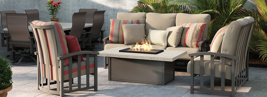 Homecrest Liberty Collection: Cushion Outdoor Seating