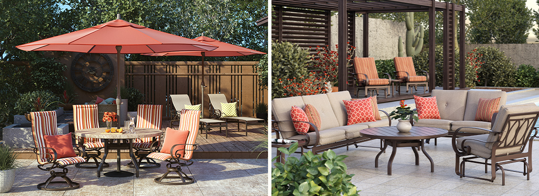 Homecrest Emory Sling and Cushion Outdoor Furniture Collection