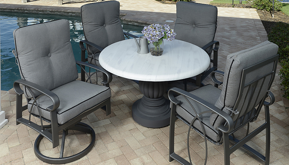 The Perfect Size Patio Dining Table