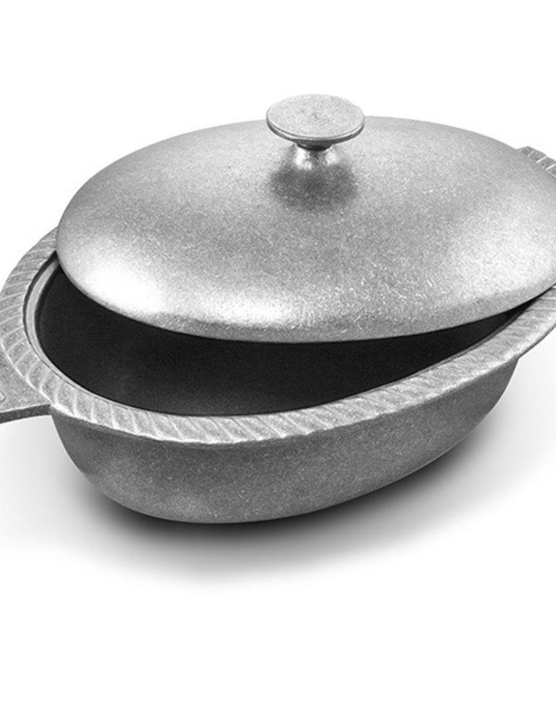 "Wilton Armetale Wilton Armetale Grillware Chili Pot with Lid 15"""