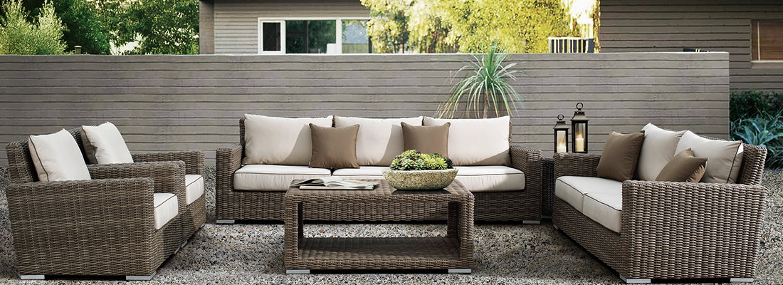 Sunset West Resin Wicker Coronado Outdoor Seating