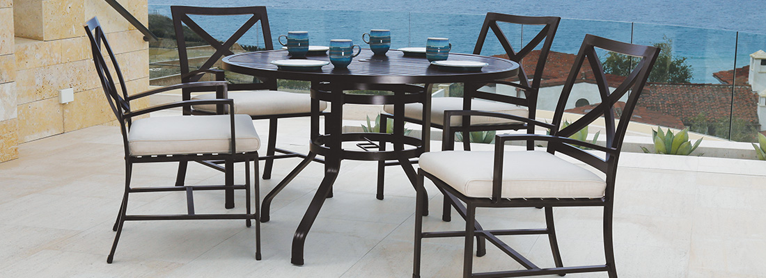 Sunset West La Jolla Patio Dining and Seating Collection