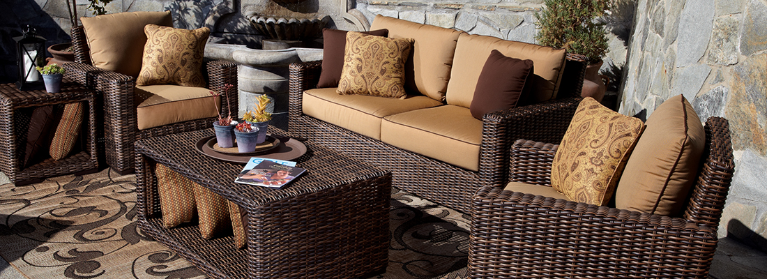 Sunset West Resin Wicker Montecito Outdoor Seating