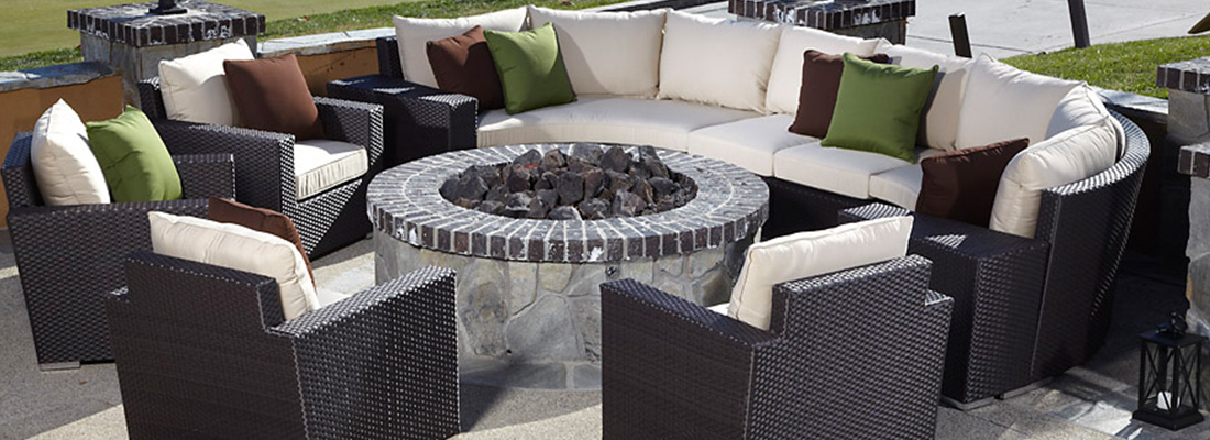 Sunset West All-Weather Wicker Solana Outdoor Seating