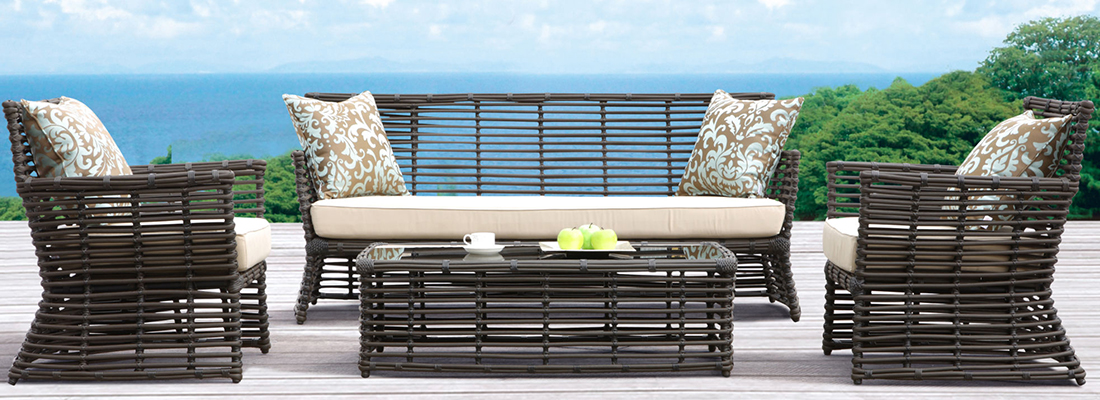 Sunset West All-Weather Wicker Venice Outdoor Seating