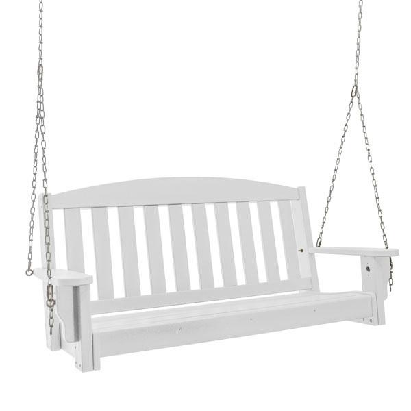 Peachy Pawleys Island Pawleys Island Durawood Bench Porch Swing White Lamtechconsult Wood Chair Design Ideas Lamtechconsultcom