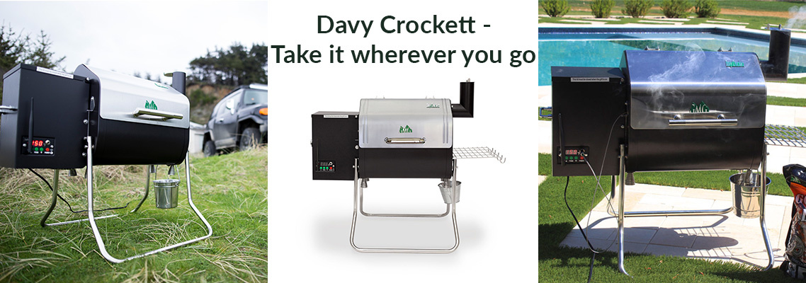 Green Mountain Grills Davy Crockett Pellet Grill