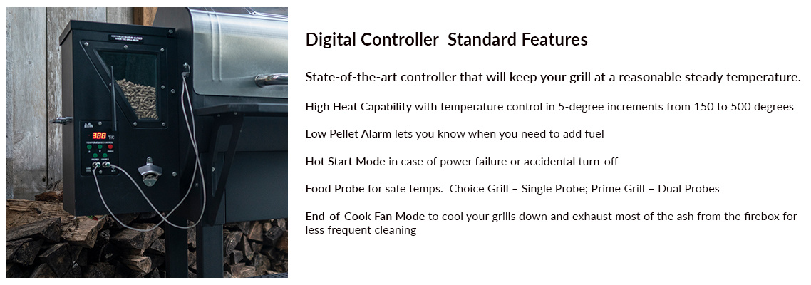 Green Mountain Grill Pellet Grill Digital Controller
