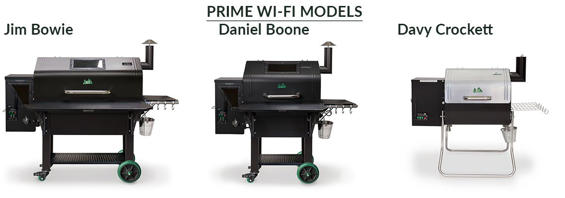 Green Mountain Grills Pellet Prime Series