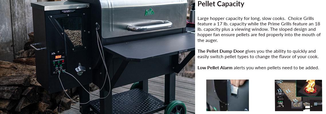Green Mountain Grill Pellet Grill Pellet Capacity