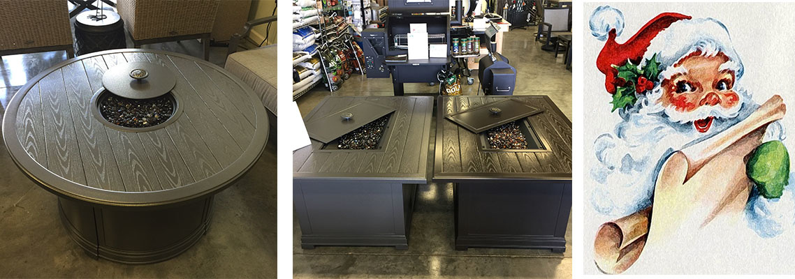 Black Friday Gas Fire Pit Table Sale