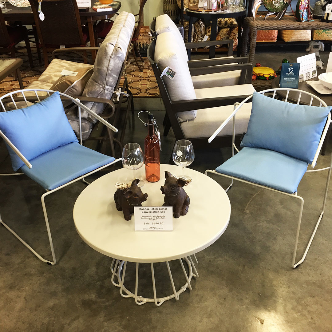 Small Patio Seating Set
