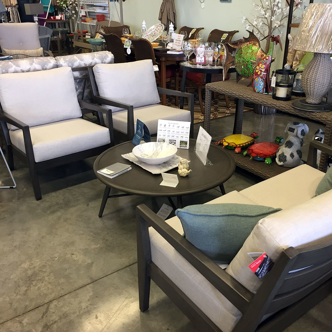 Lucia Patio Loveseat and Club Chairs