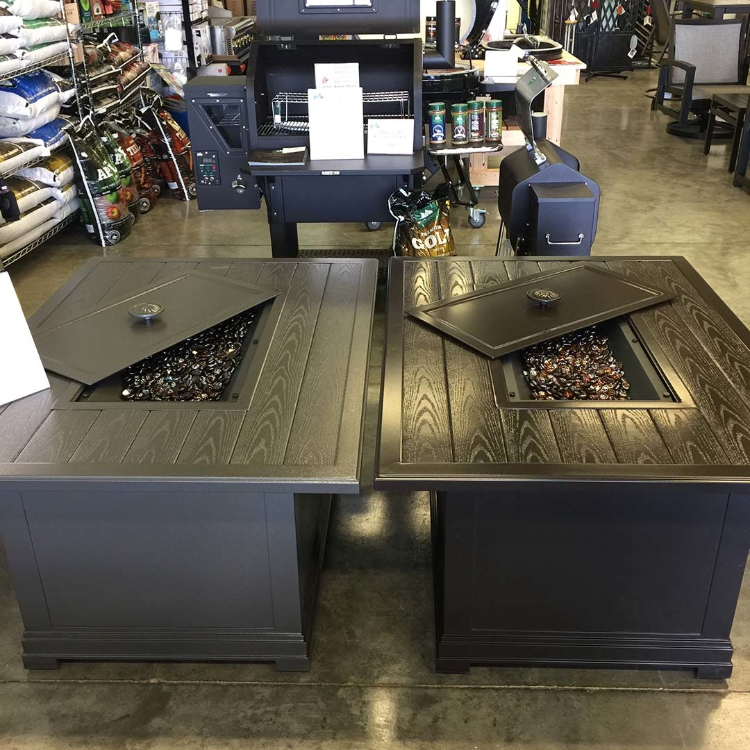 Rectangle Fire Pit Table Sale