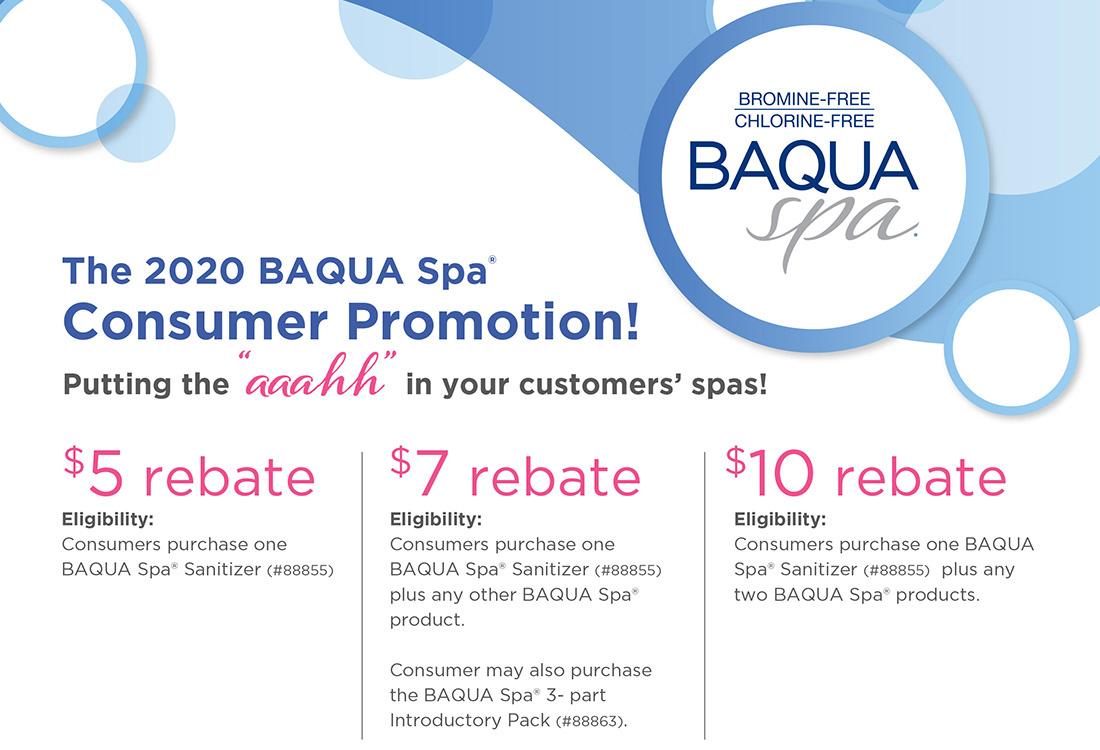 Baquacil Pool Chemicals Promotion Sale