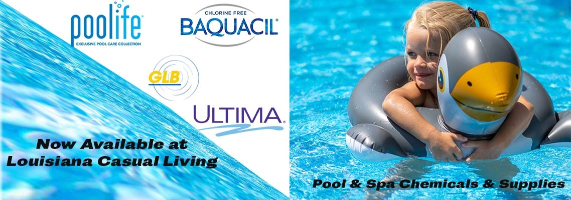 Swimming Pool and Spa Chemicals and Supplies
