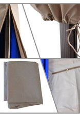 California Umbrella California Umbrella Cantilever Umbrella Cover With  Beige  Fabric