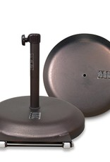 California Umbrella California Umbrella 75LBS Umbrella Base With Steel Cover with Concrete Bronze
