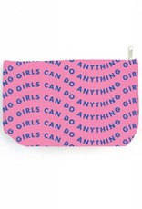 Little Jumbo Pouch - Girls can do anything