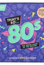 That's So 80's Game