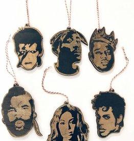 Famous Faces Ornament
