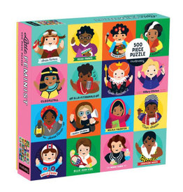 Chronicle Books Puzzle - 500 piece little Feminist