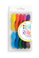Left Right Crayons - set 10