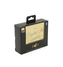 Pocket Tin Speaker - Gold