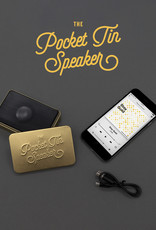 Pocket Tin Speaker - Gold