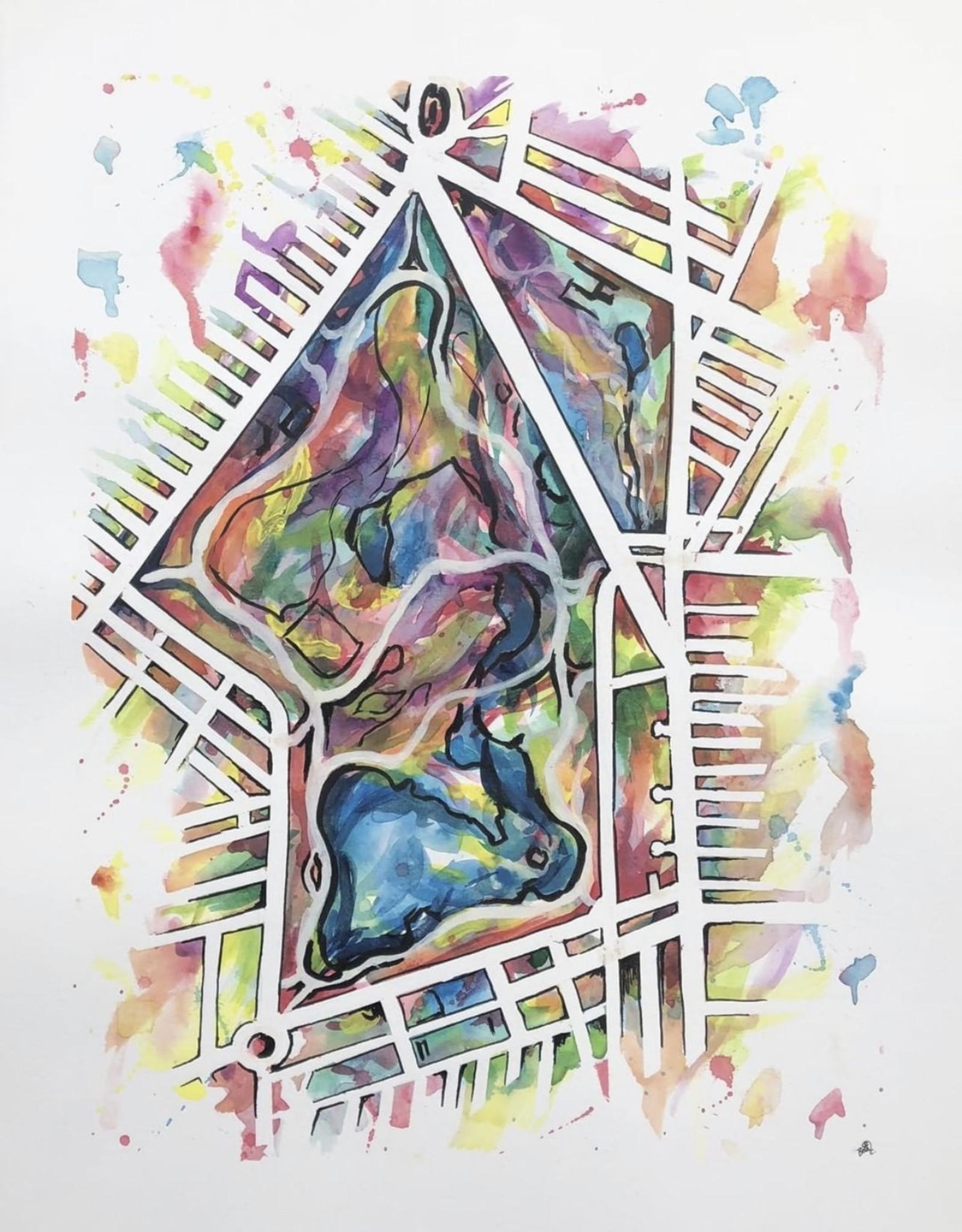 Beth Chapnick Prospect Park Watercolor Print 11x14