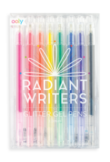 Radiant Writers Glitter Gel Pens - Set of 8