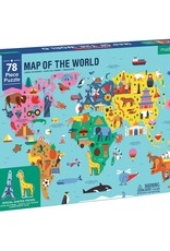 Puzzle - 78 piece Map of the World