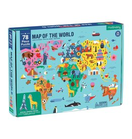 Puzzle: 78 Piece Map of the World