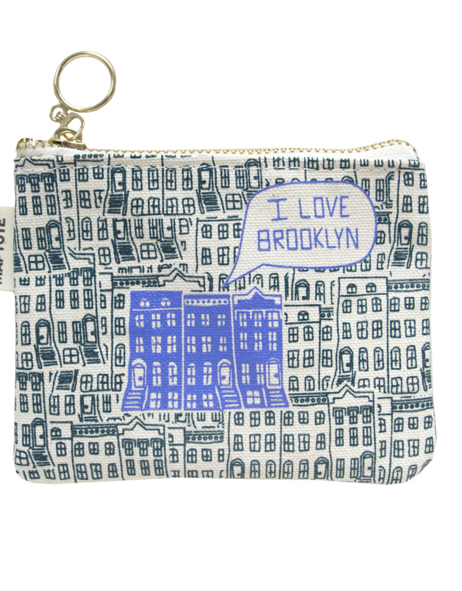 Maptote Brooklyn Coin Purse - Teal
