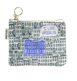 Brooklyn Coin Purse - Teal