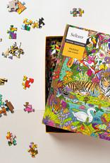 Seltzer Goods Puzzle - 500 piece - Jungle Tiger