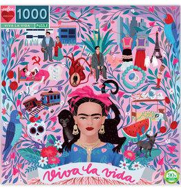eeBoo Puzzle 1000 piece : Viva la Frida