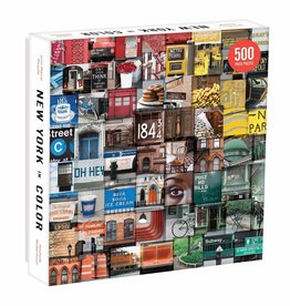 Puzzle: New York in Color 500 pieces