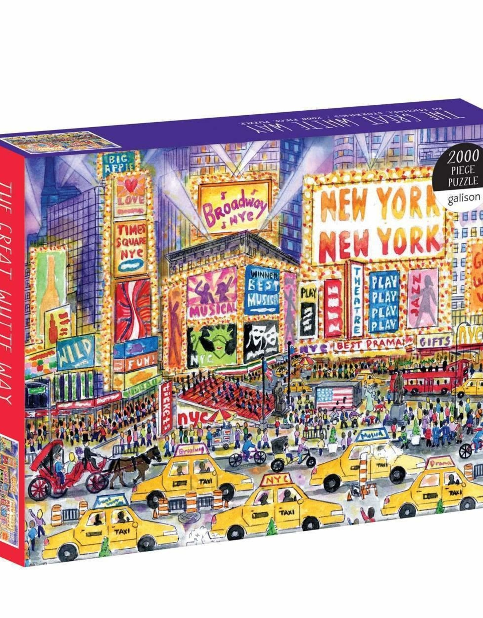 Puzzle 2000 piece The Great White Way New York New York