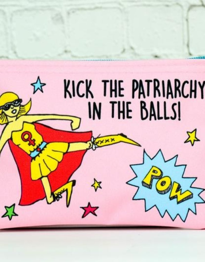 Pouch: Kick the patriarchy in the balls