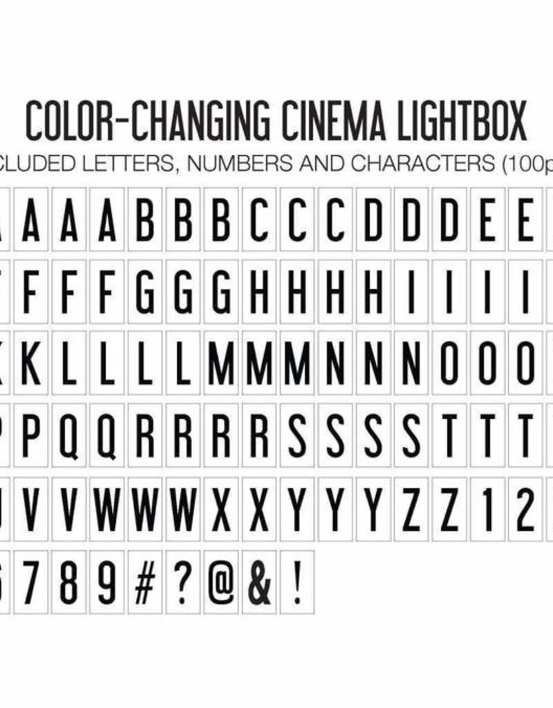 Original Color Changing Lightbox