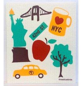 Swedish Dishcloth: NYC